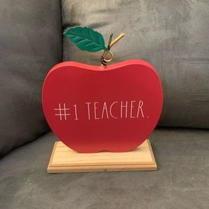 Rae Dunn #1 Teacher sign
